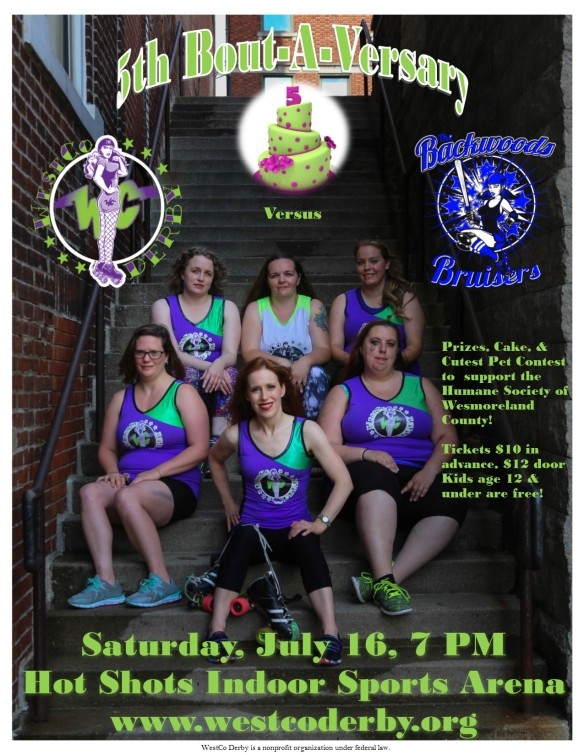 July Bout Poster